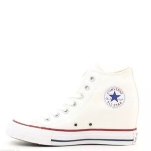 New Converse All Star Women's Lux Wedge 7.5 NWOB